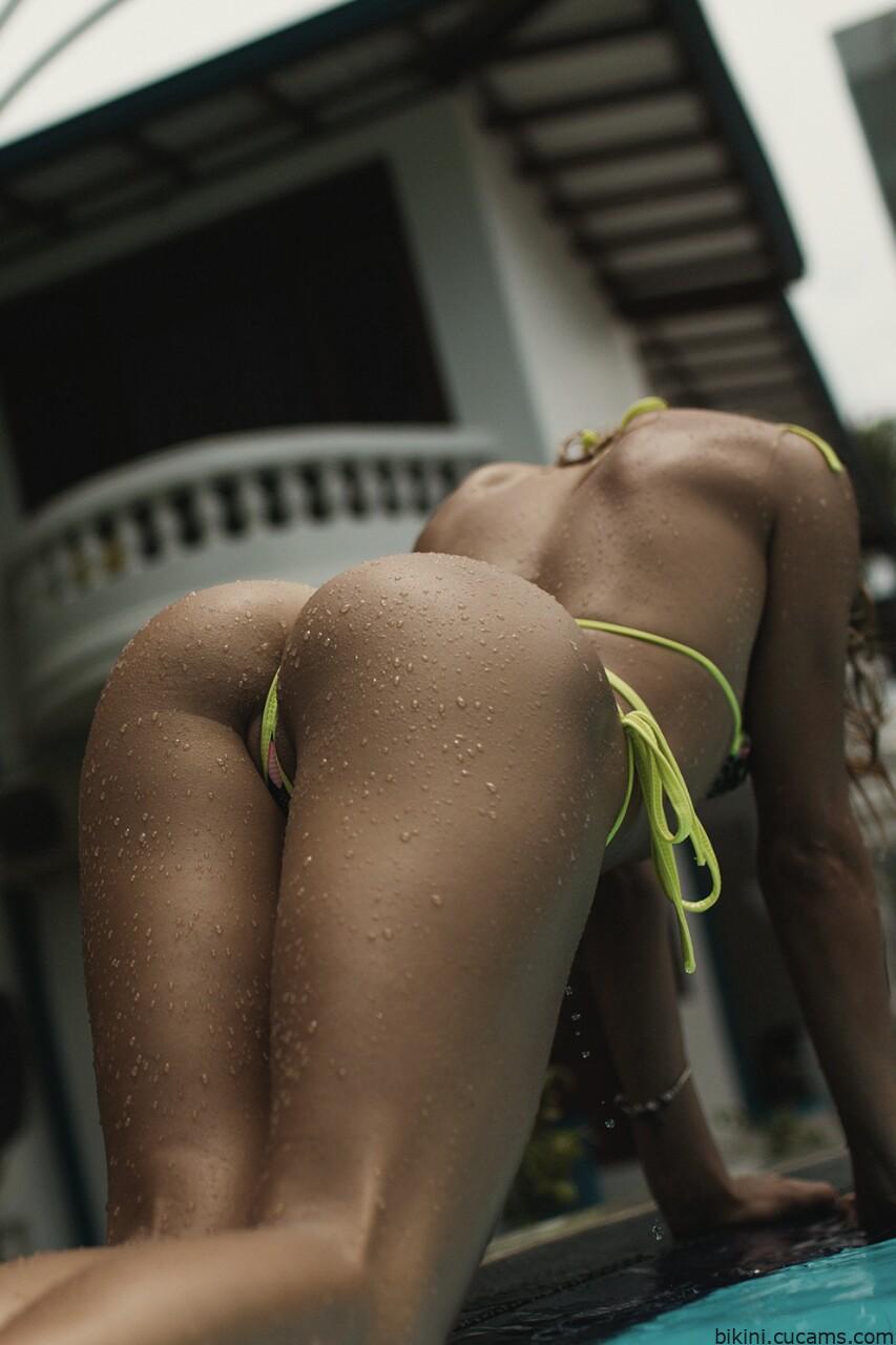 Bikini Dildo Amateur by bikini.cucams.com