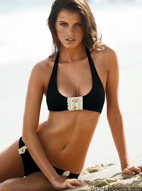 Bikini Fishnet Goth by bikini.cucams.com